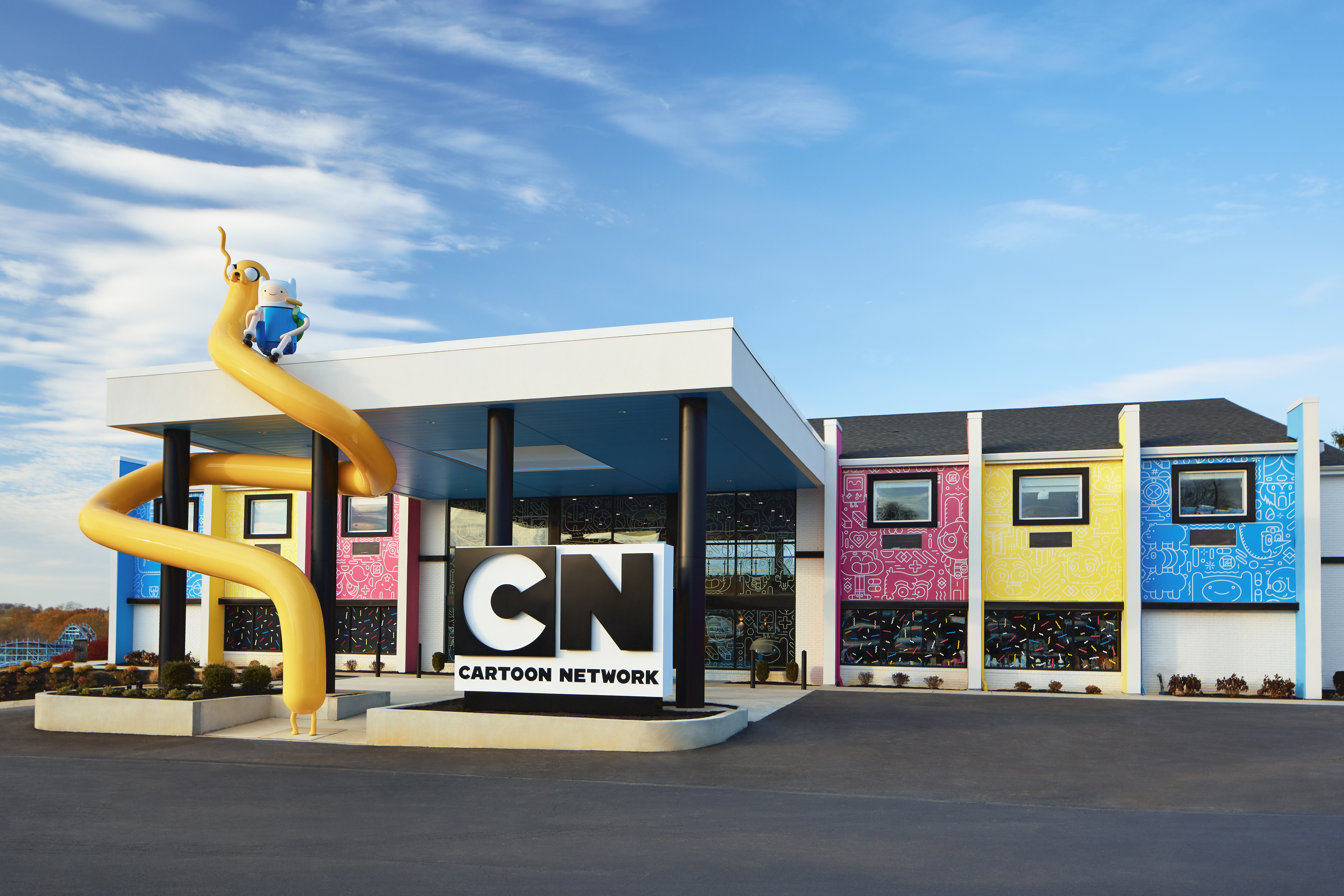 The First Official Cartoon Network Hotel Is Here All Shenanigans