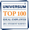 Universum Top 100 Ideal Employer 2011 Student Survey