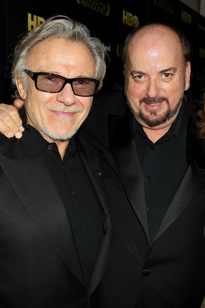 Harvey Keitel and James Toback