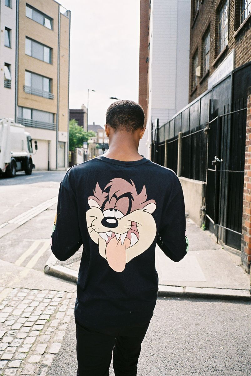 Taz shirt from Warner Bros. and Lazy Oaf's Looney Tunes Collection