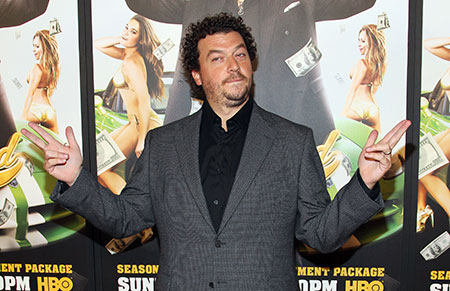 Danny McBride arrives at the premiere