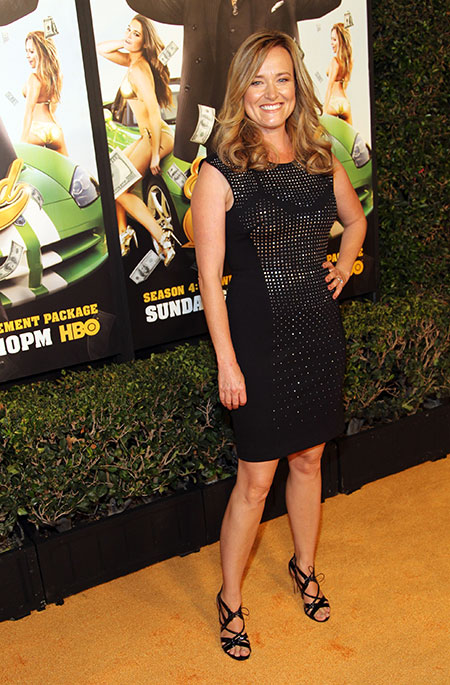 Jennifer Irwin, who plays Kenny's sister-in-law, Cassie
