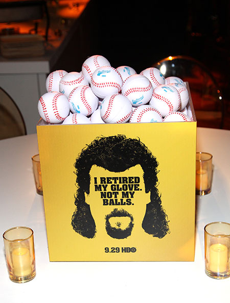 Kenny Powers-themed décor