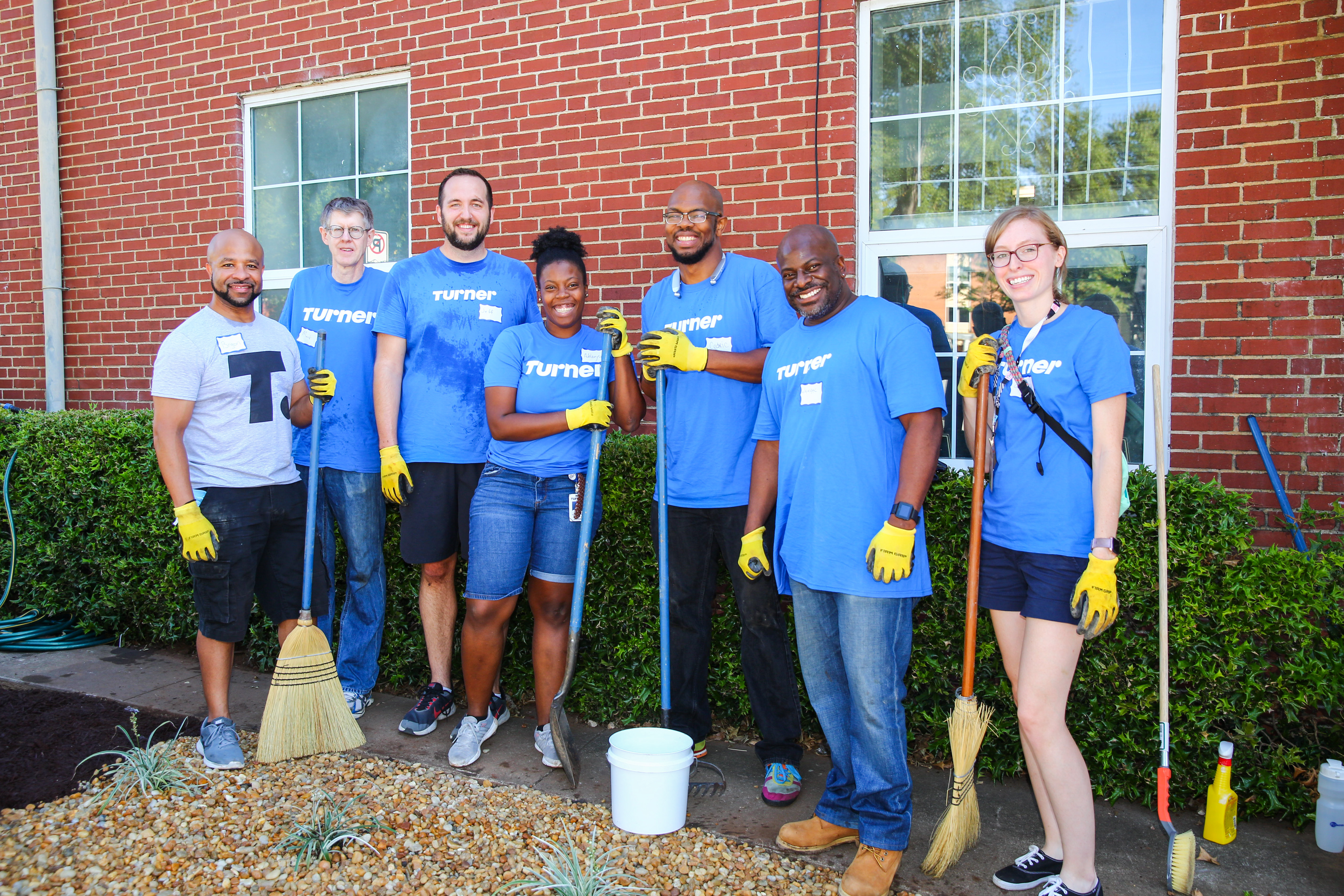 Turner Volunteer Day in Atlanta