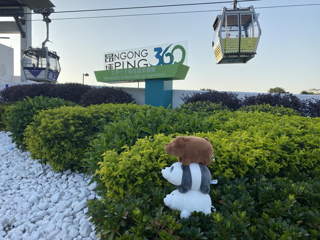 We Bare Bears celebrate the holidays at Ngong Ping 360