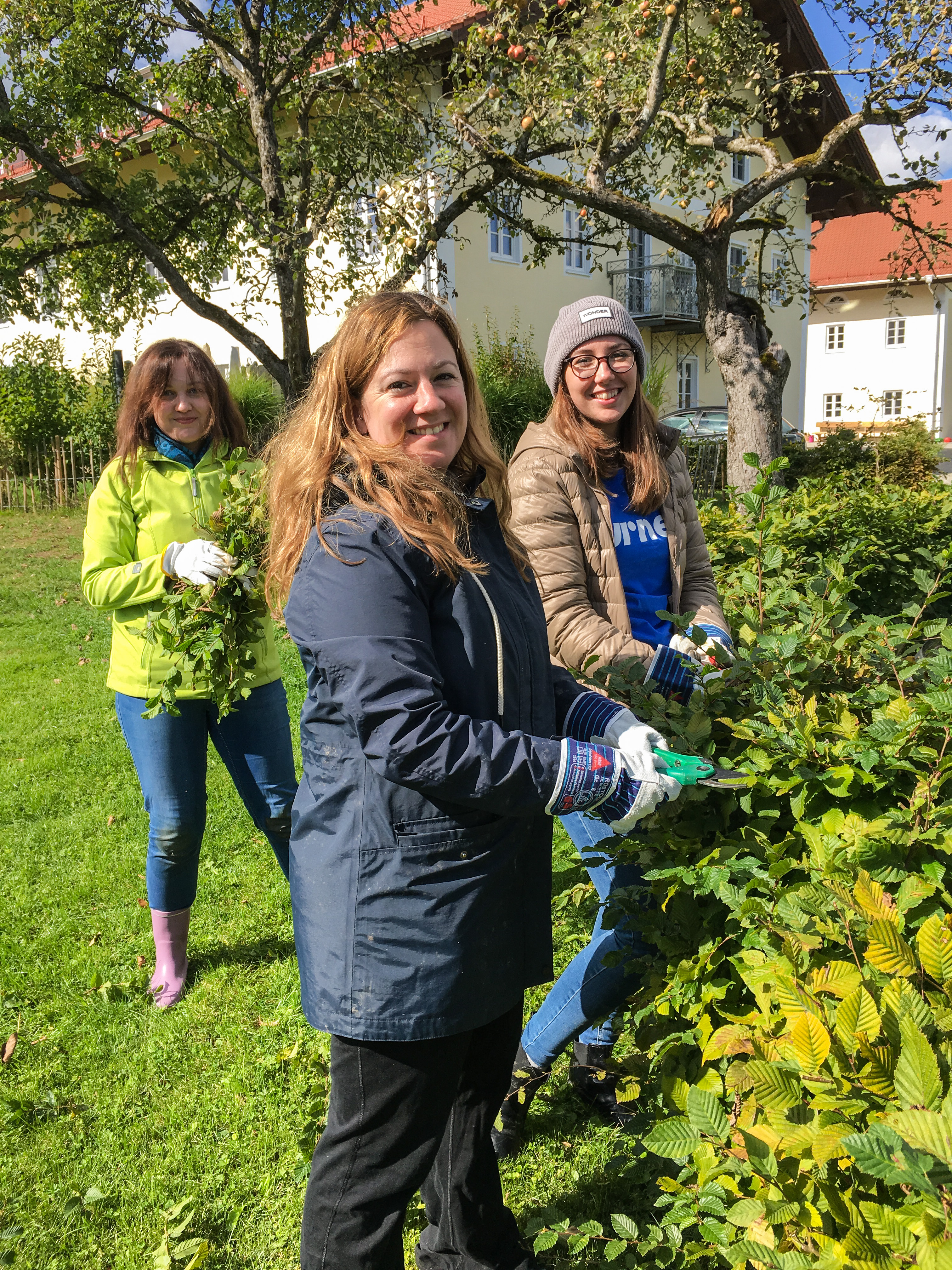 Turner Volunteer Day in Munich