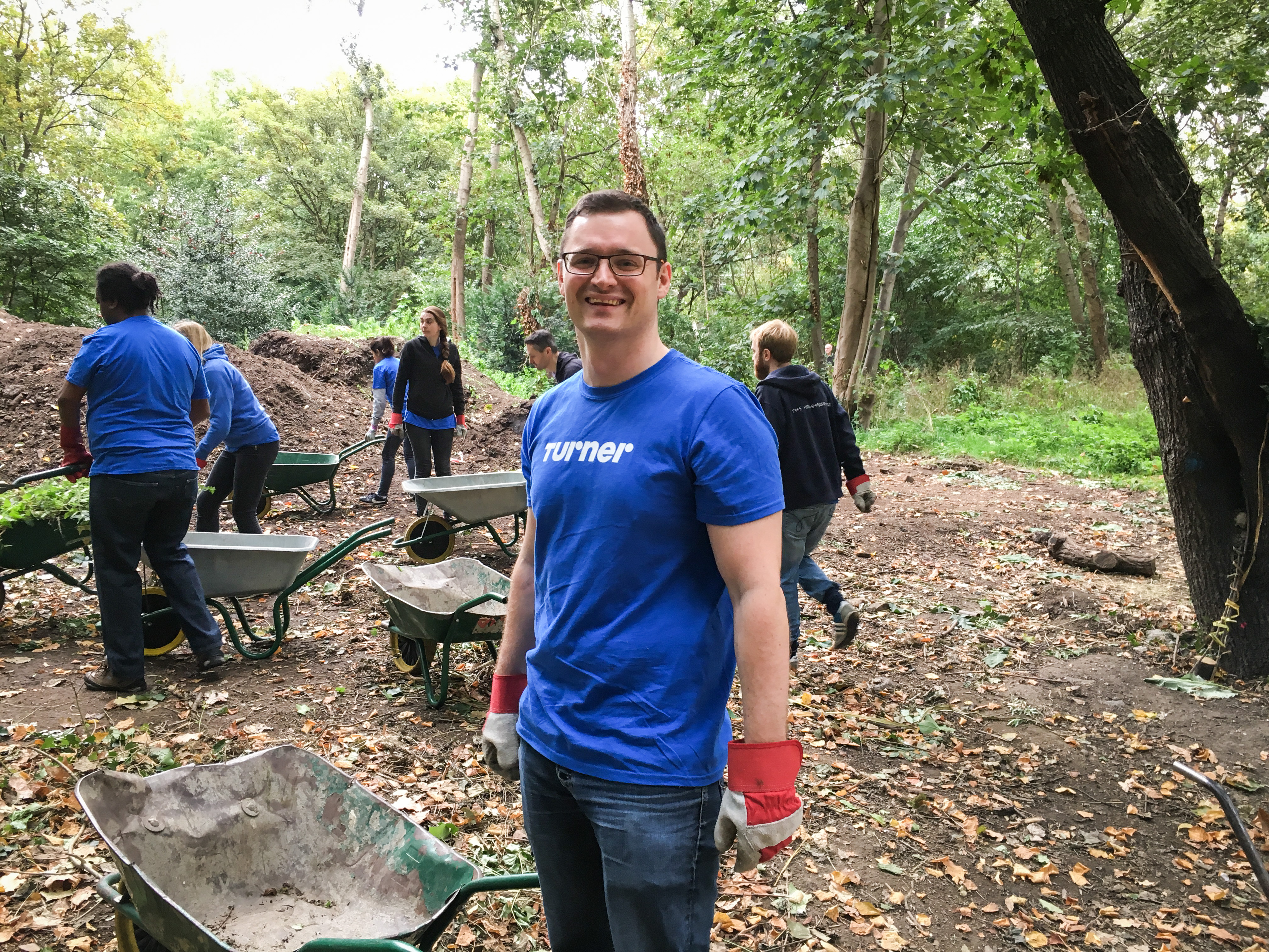 Turner Volunteer Day in London