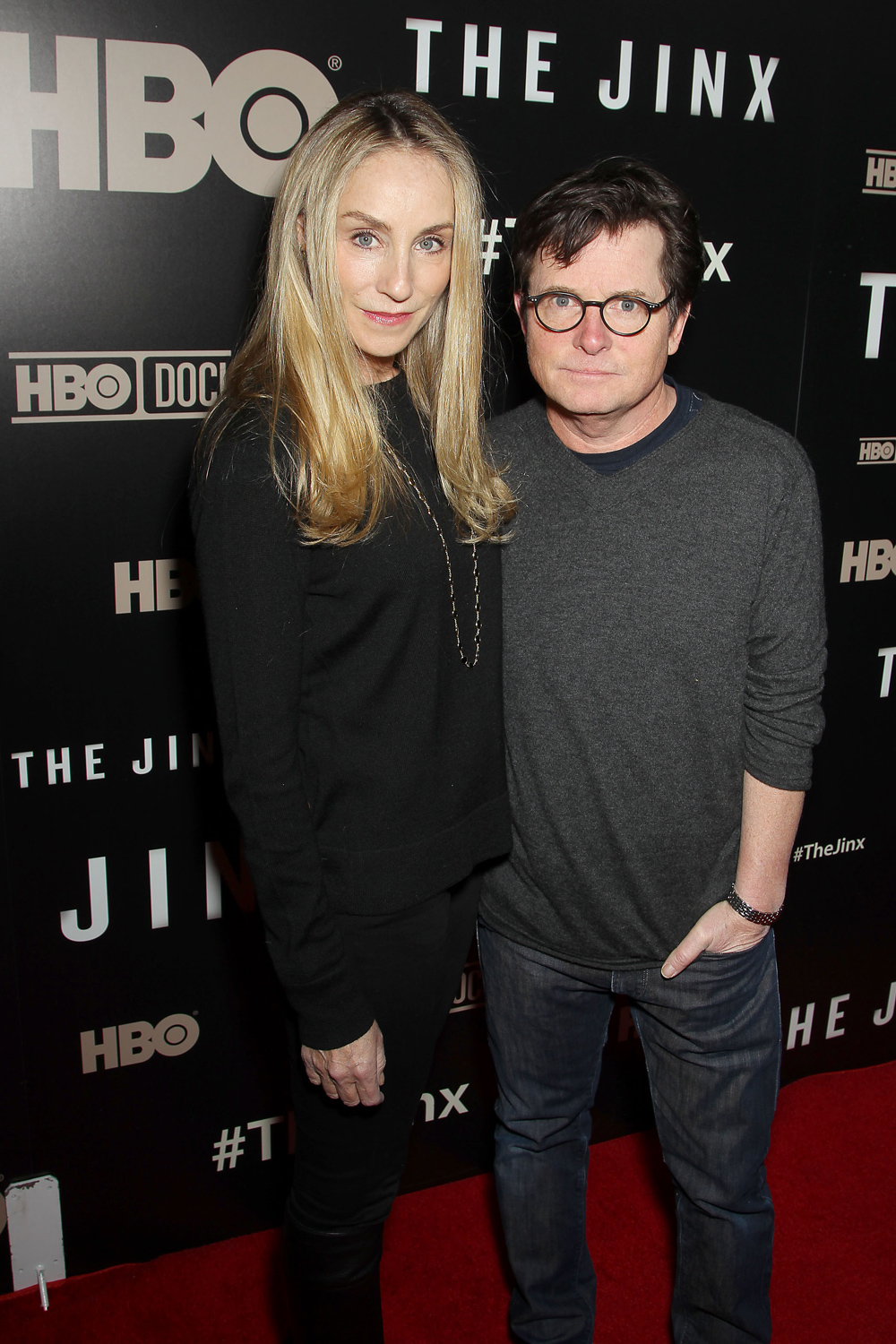Tracy Pollan and Michael J. Fox
