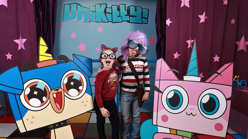 Cartoon Network exhibition in Russia - Unikitty Photo Area