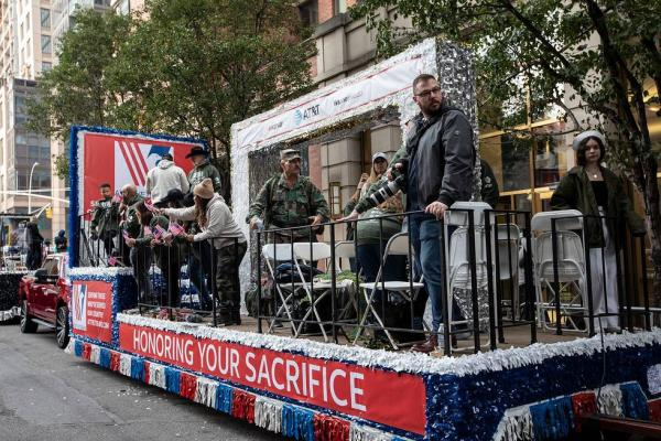 'Honoring Your Sacrifice:' WarnerMedia marches with AT&T and Xandr in Veterans Day parade