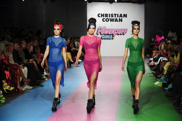 The Powerpuff Girls partner with Christian Cowan to bring empowerment from Townsville to the runway
