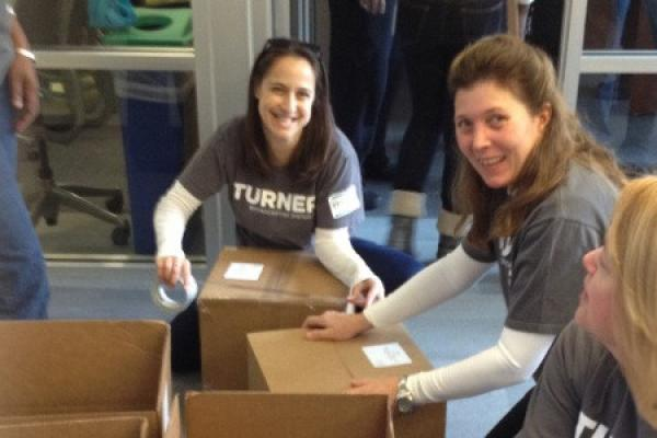 Turner Employees in Atlanta Give Back to Honor MLK