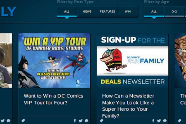 Visit DC Comics' Awesome New Cross-Generational Hangout
