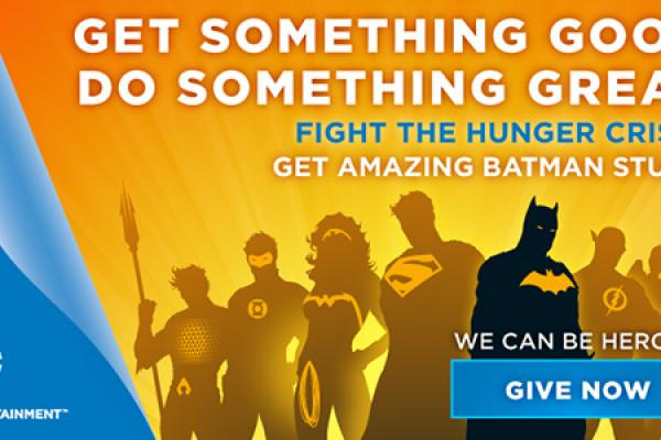 Be a Hero with DC Entertainment