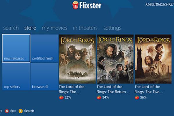 Flixster App Launches on Xbox 360