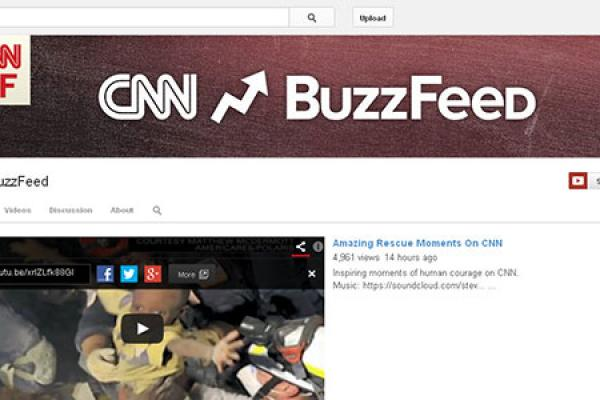 5 Questions on CNN and BuzzFeed's New Social News Channel