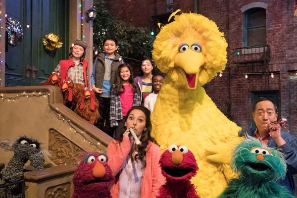 The ultimate block party: 'Sesame Street' turns 50