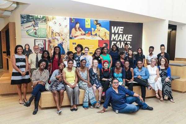 Girls Who Code Wrap Up Their Summer at Turner