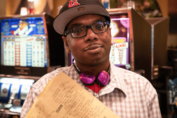 'Hello, my name is… Darrin Dortch'