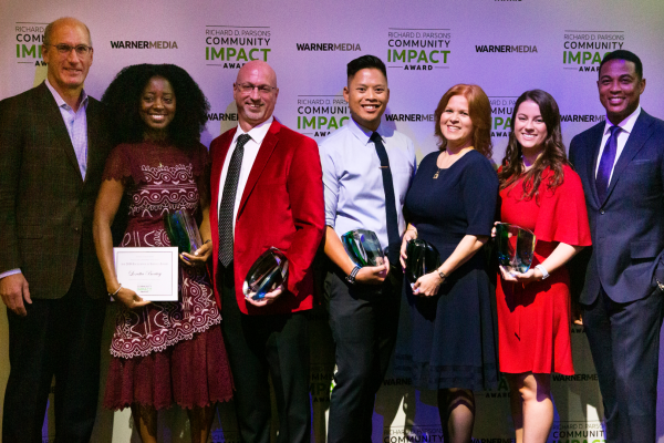 Five WarnerMedia employees honored for commitment to community service