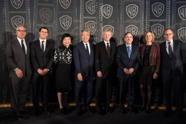 Warner Bros. Celebrates New Beijing Office