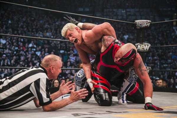 AEW is coming at you like an elbow drop off the top rope