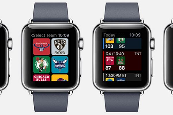 Team Stream and NBA Game Time Launch Apple Watch Apps