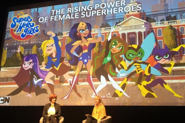 'DC Superhero Girls' fly to Cannes to showcase the rising power of female superheroes