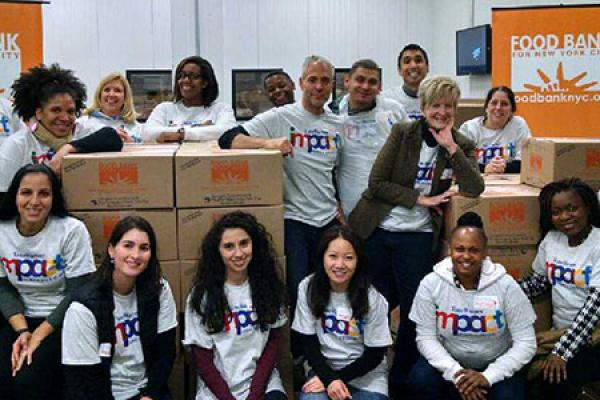Impact Volunteers Give Thanks By Giving Back
