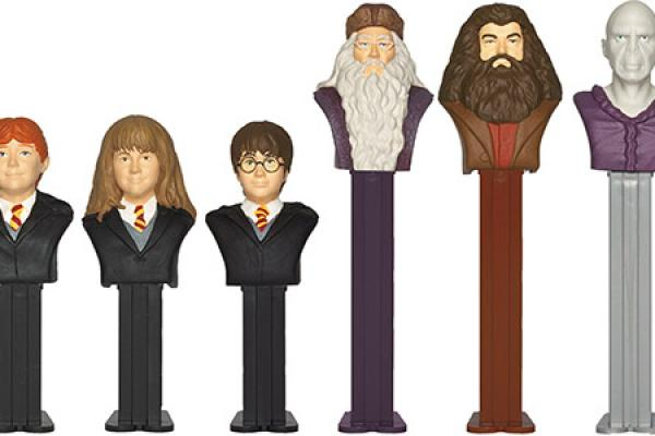 Pop Some PEZ with Harry Potter