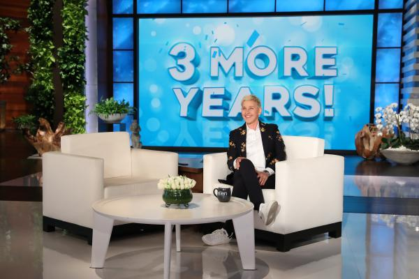 Fans can celebrate… 'The Ellen DeGeneres Show' is renewed through 2022!