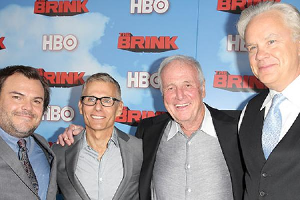 Stars Seize the Red Carpet at The Brink Premiere