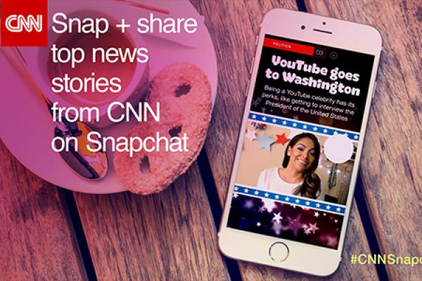 Discover CNN on Snapchat