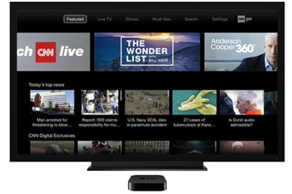 CNNgo Launches on Apple TV