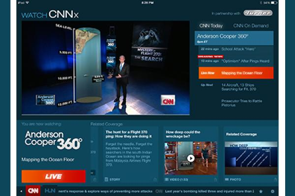 Internet and TV Collide with CNNx