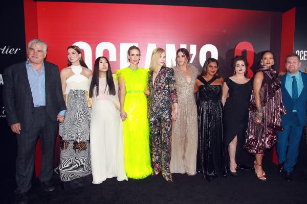 Sea of Glamour at Ocean's 8 Premiere