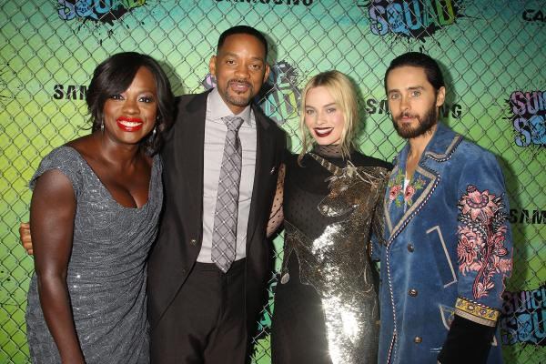 Squad Storms Gotham Red Carpet