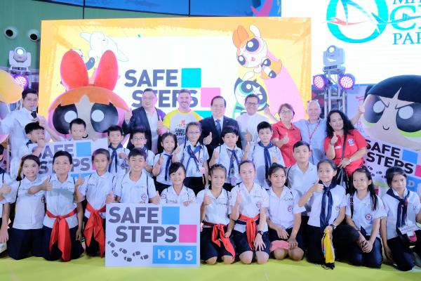 Cartoon Network & Prudence Foundation Launch 'SAFE STEPS Kids' in Asia