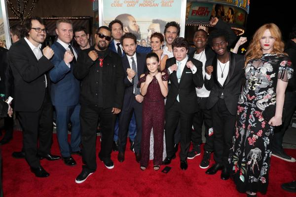 Fist Fight Premieres, No One is Hurt