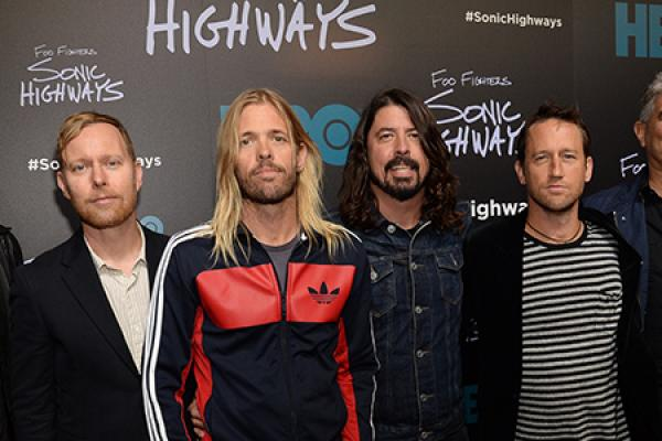 Foo Fighters Rock Out in NYC