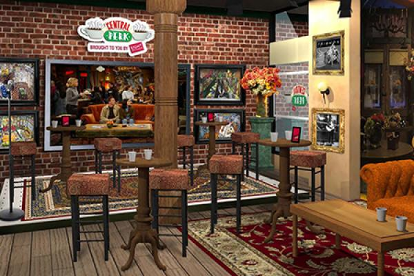 Celebrate with Friends at Central Perk