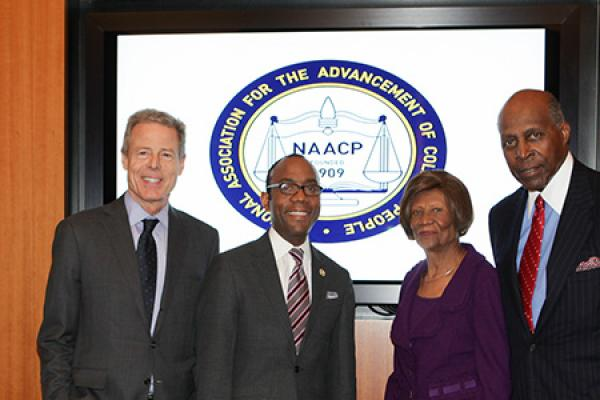 New NAACP CEO Welcomed at Reception