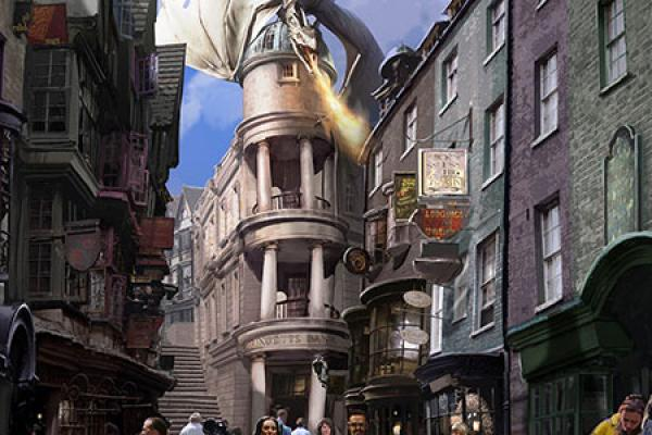 Unveiling The Wizarding World of Harry Potter - Diagon Alley