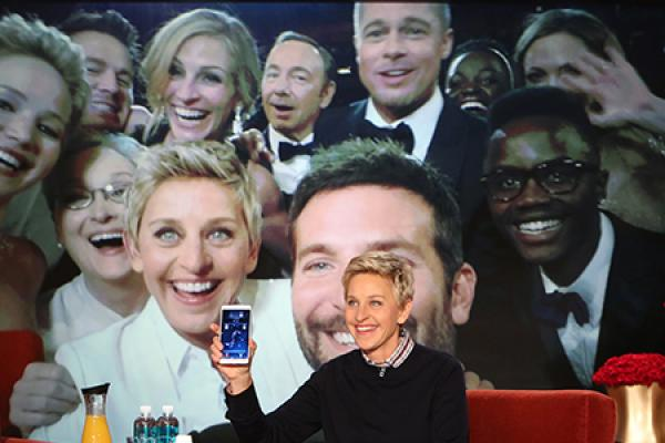 Ellen's Cross-Media Moment