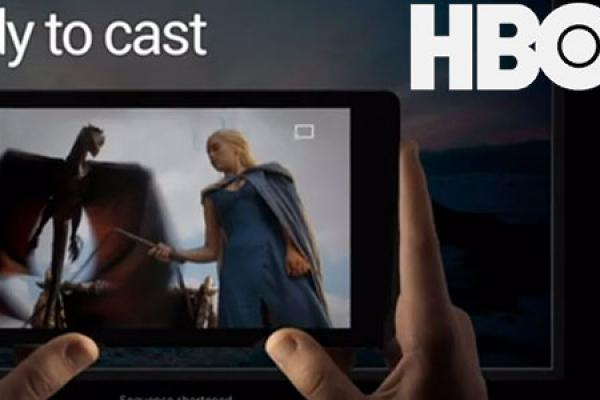 Get HBO GO on Google Chromecast