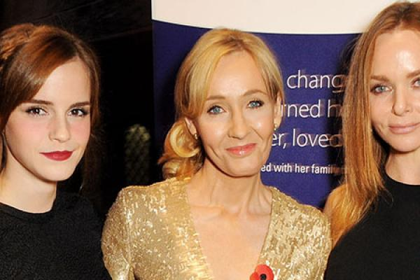 J.K. Rowling Charity Event Lights Up Harry Potter Set