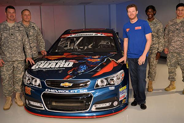 Super Heroes Get Revved with Hendrick Motorsport