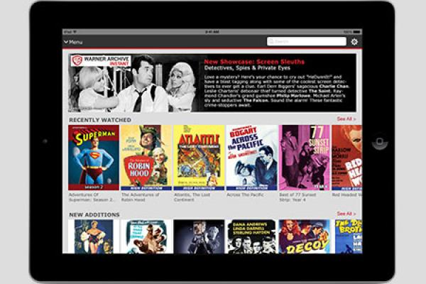 Streaming Classic Hollywood on the Go