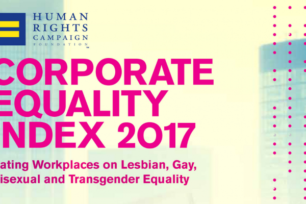 Recognizing our Commitment to Corporate Equality