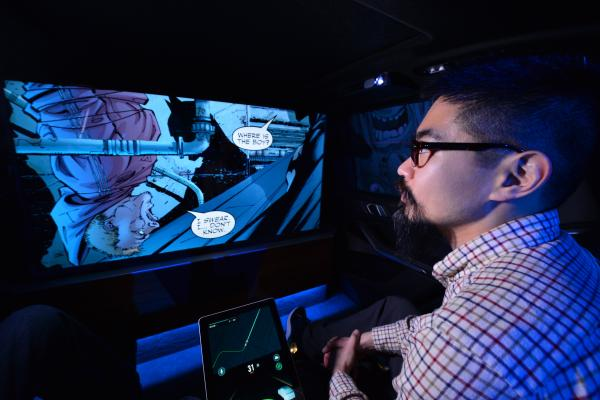 Warner Bros., Intel show off future of entertainment with self-driving cars at CES